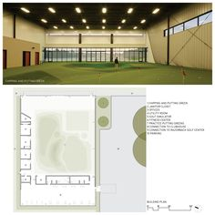 Blessings Golf Club Indoor Practice Facility | Design Award Entries | AIA Arkansas