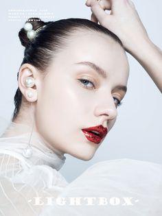 戴珍珠的蓝眼睛女孩 - nico龙小 - CNU视觉联盟