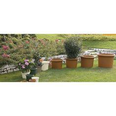 """Marchioro Round Pot Planter Color: Slate, Size: 8.25"""" H x 11.5"""" W x 11.5"""" D"""