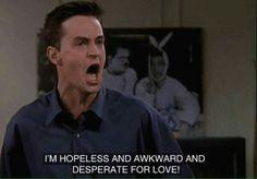 Chandler bing online dating
