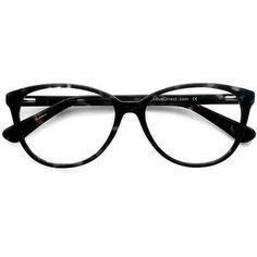71c997650e773 Women s Hepburn - Gray Floral horn round - 16127 Rx Eyeglasses Round  Eyeglasses