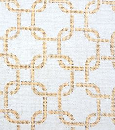 Utility Fabric- Burlap Large Chain Link Gray