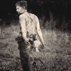 Daryl Dixon. When the zombie apocalypse begins, I am so on Team Daryl.