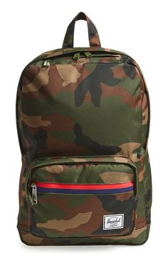 This on-trend camo backpack is perfect for carrying the essentials.