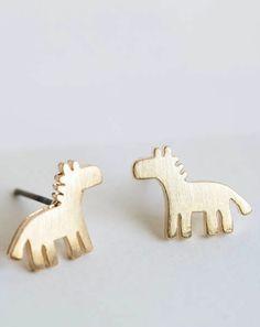 Cute dalahorse earrings