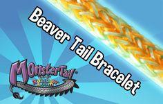 BEAVER TAIL Bracelet     (Monster Tail)