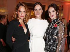 Pin for Later: Les Harper's Bazaar Women of the Year Awards Étaient la Soirée Entre Filles la Plus Chic de L'année Ruth Wilson, Michelle Dockery, et Lily James