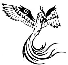 simple phoenix drawing - Google Search