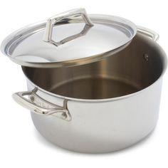 Sur La Table® Tri-Ply Stainless Steel Dutch Oven, 6 qt.