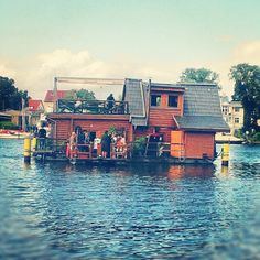 houseboat berlin - SUCH a cool place
