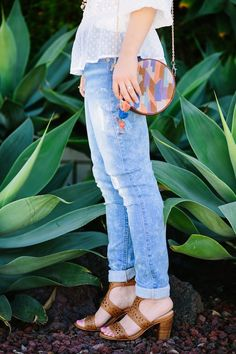 My Style // Denim and Lace