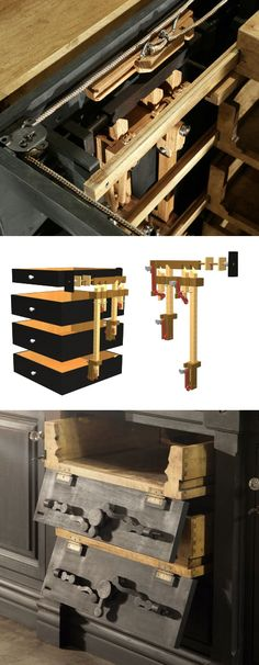 Furniture with Secret Compartments, Part Ready to Make Your Own? Posted by hipstomp / Rain Noe Furniture Projects, Home Projects, Cool Furniture, Furniture Design, Furniture Online, Furniture Outlet, Furniture Stores, Wooden Furniture, Hidden Spaces