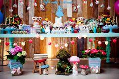 Frescurinhas Personalizadas: Festa Alice no país das maravilhas!