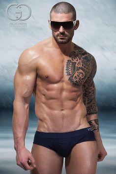 Gorgeous Sexy Guys: The Photography of Gilles Crofta Hot Men, Hot Guys, Sexy Guys, Stuart Reardon, Beach Boy, Fitness Models, Male Fitness, Body Fitness, Ray Ban Wayfarer