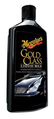 Meguiar's G7016 Gold Class Carnauba Plus Premium Liquid Wax - 16 oz.