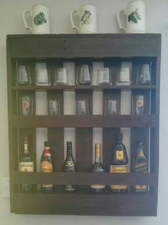 Liquor Shelving Earthquake Proof For The Home