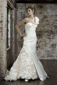 Original  Brautkleid von ian stuart Modell cabaret ivory hochzeitkleid Gr.36