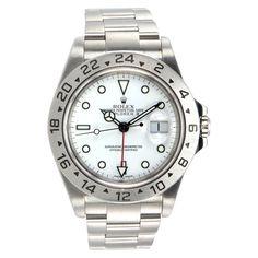 Rolex Stainless Steel Explorer II Wristwatch Ref 16570 #CraigEvanSmall