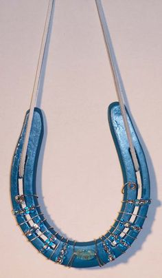 Handcrafted Good Luck Horseshoe Wall Hanging