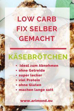 Käsebrötchen mit Super Food - Low Carb und ideal zum Abnehmen. Ohne Getreide und Gluten- dafür mit viel Protein und Ballaststoffen. #abnehmen #lowCarb #Superfood