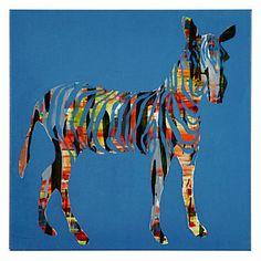 Safari Zebra | Animals | Art-themes | Art | Z Gallerie, $40