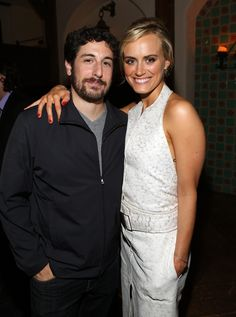 Jason Biggs and Taylor Schilling at Netflix Presents 'Orange is the New Black' screening in LA. #OITNB