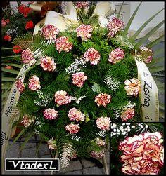 Wieńce, wiązanki pogrzebowe Kraków - najniższe ceny w Krakowie Funeral Sprays, Krakow, Floral Wreath, Wreaths, Home Decor, Floral Crown, Decoration Home, Door Wreaths, Room Decor