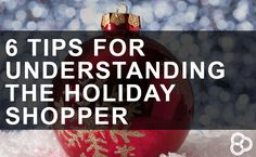 Get inside your customers heads this holiday season to sell more. Ecommerce, Learning, Holiday, Tips, Things To Sell, Vacations, Studying, Holidays, Teaching