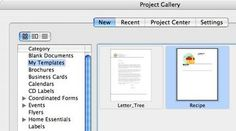 How to Create a Recipe Template using Microsoft Word