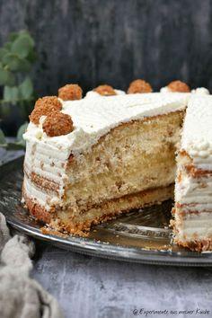 Giotto-Spekualtius-Torte ohne Backen Giotto Spekualtius cake without baking Easy Cake Recipes, Cupcake Recipes, Baking Recipes, Dessert Recipes, Desserts, Healthy Recipes, Christmas Baking, Christmas Christmas, Food Cakes