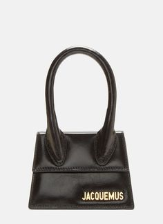 6aa9d72b5 JACQUEMUS Le Sac Chiquito in Black. #jacquemus #bags #shoulder bags  #leather #