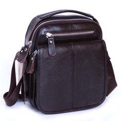 Leather Men handbags Shoulder Messenger Bags