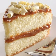 A Delicious recipe for sweet caramel frosted vanilla cake. Delicious served with vanilla ice cream.. Vanilla Cake With Caramel Icing. Recipe from Grandmothers Kitchen.