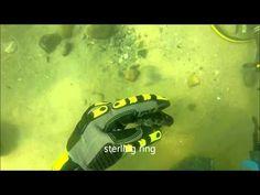 Underwater Metal Detecting a Vintage Swim Beach - YouTube