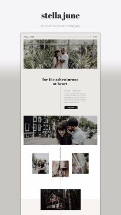Showit Website Template Stella June - Дизайн веб-сайтов - One-of-a-kind Showit Website Template for creative small business owners. Layout Design, Website Design Layout, Wordpress Website Design, Web Layout, Blog Layout, Design Design, Logo Design, Web Design Trends, Design Websites