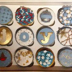 Christmas/winter cupcakes!