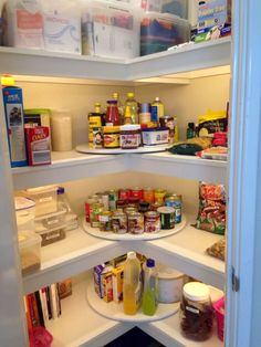 Well-Lit Pantry Organization Ideas