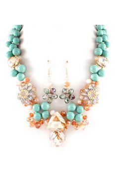 Crystal Manuella Necklace