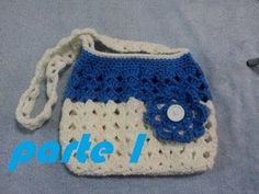 #Crochet Purse Pretty Petite Ruffle Handbag #TUTORIAL - YouTube