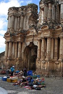 Ruinas de la Iglesia del Carmen, Antigua Guatemala, Sacatepequez, Guatemala
