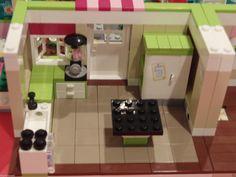 Lego Friends 3315 Olivia's House Kitchen Tile Remodeling Kit Dark Tan Tiles   eBay Lego Kitchen, Kitchen Tile, Kitchen Dining, Dining Room, Lego Boards, Dark Tan, Lego Friends, Lego Building, Lego Creations