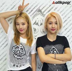 Jiwoo and Somin