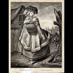 November, c. 1780, Colonial Williamsburg, 1972-177,11
