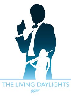 The Living Daylights, James Bond by Phil Beverley, via Behance