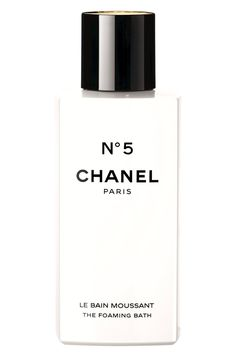 Chanel Number 5 Foaming Bath, $65, chanel.com. - HarpersBAZAAR.com