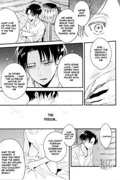 Page 18 #Ereri #riren #eren #yeager #levi #aot #attackontitan #yaoi #doujinshi #sweet #romantic #r18