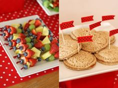 Ladybug 4th Birthday Party food! - Kara's Party Ideas - The Place for All Things Party