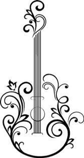 guitar clip art design