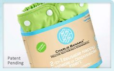 Charlie Banana Cloth Diapers - Now Sold in certain Target Stores! Diaper Brands, Cloth Nappies, Nursing Pads, Disposable Diapers, Natural Baby, Baby Accessories, Cute Kids, Breastfeeding, Baby Kids