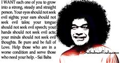 Quote by Sri Sathya Sai Baba